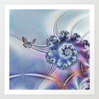 Butterfly heaven Art Print