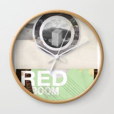 The RED project coming soon Wall Clock