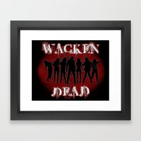 Wacken Dead Framed Art Print