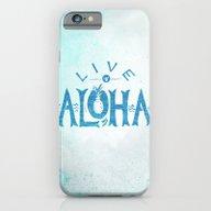 Live Aloha iPhone 6 Slim Case