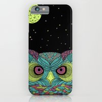 iPhone & iPod Case featuring The Mystique Owl by Alejandro Giraldo