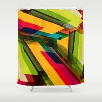 Field Of Colors Shower Curtain