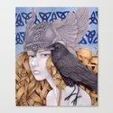 Valkyrie's Stare Canvas Print