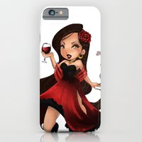 iPhone & iPod Case featuring Pomba Gira by Lucy Fidelis