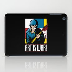 Art is War! iPad Case
