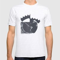 Industrial Mens Fitted Tee Ash Grey SMALL