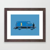 Tommy the Van Engine Framed Art Print
