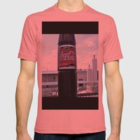 Industrial Coke Mens Fitted Tee Pomegranate SMALL