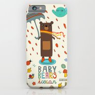 Baby Bears Icecar iPhone 6 Slim Case