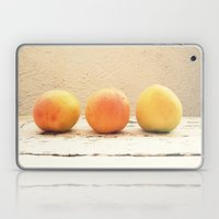 3 apricots Laptop & iPad Skin