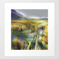 Approaching Rain - Achil… Art Print