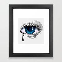 Mystic Eye Framed Art Print