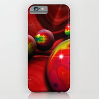 iPhone & iPod Case featuring Marbles by Mr D's Abstract Adventures