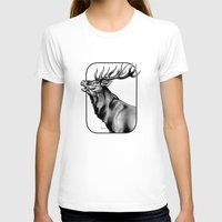 The Challenge Womens Fitted Tee White SMALL