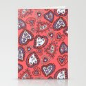 Love & heart Stationery Cards