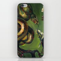 Unlikely Friends iPhone & iPod Skin