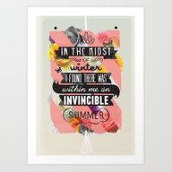 The Invincible Summer Art Print