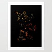 Something Fishy Art Print
