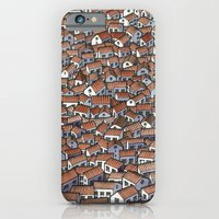 iPhone & iPod Case featuring Little Houses by Miguel Herranz
