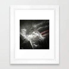 BallWars III. Framed Art Print