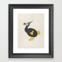 Unbirthday Framed Art Print