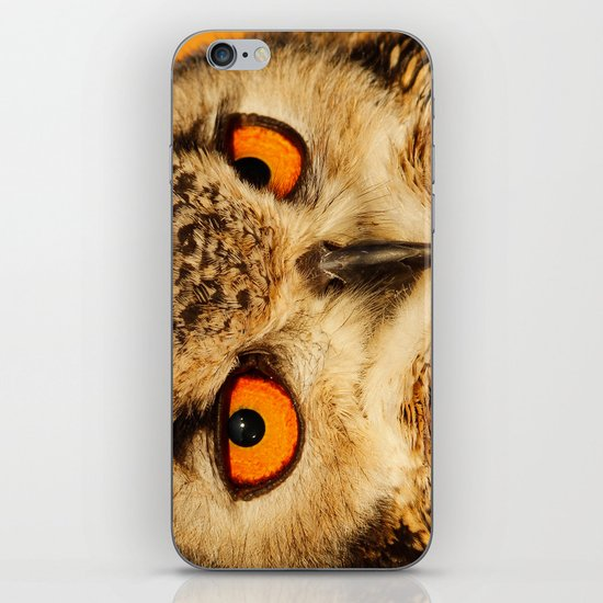 Bubo bubo iPhone & iPod Skin