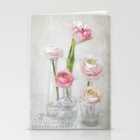 4+1= spring Stationery Cards