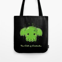 The Call Of Cutethulhu Tote Bag