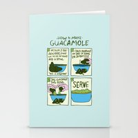 HOW TO MAKE GUACAMOLE Stationery Cards