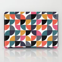 Quarter pattern iPad Case