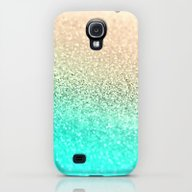 GOLD AQUA Galaxy S4 Slim Case