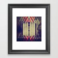 Argyle Turnstile Framed Art Print