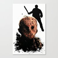 Jason Voorhees: Monster Madness Series Canvas Print