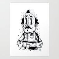 Stinky Man Art Print