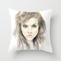 Hey Lolita Hey Throw Pillow