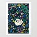 Wild Swan Art Print