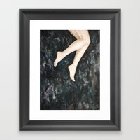 The Smallest Oceans Framed Art Print