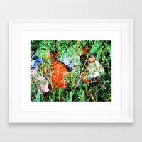 Forgotten Garden 3 Framed Art Print