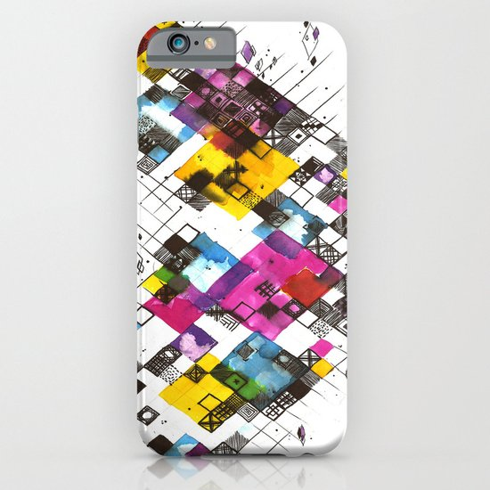 Ink Kaleidoscope iPhone & iPod Case