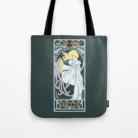 Odette Nouveau - Swan Pr… Tote Bag