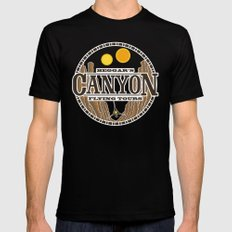 Beggar's Canyon Tours Mens Fitted Tee SMALL Black