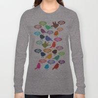 Birdsong Gosh Quotes by Rachel Burbee & Garima Dhawan Long Sleeve T-shirt