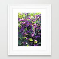 Christy's Garden 4 Framed Art Print
