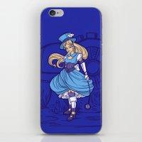 Steampunk Alice iPhone & iPod Skin