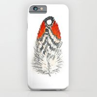 iPhone & iPod Case featuring Red Feather -01 by TheColorK