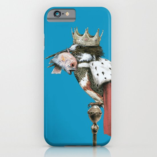 Kingfisher (Blue Option) iPhone & iPod Case