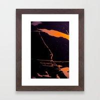 Somewhere in my world Framed Art Print