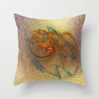 Little Dumbbell Nebula  Throw Pillow