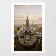 Turn To Clear Vision Art Print