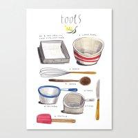 Lamingtons Part 3: Tools Canvas Print